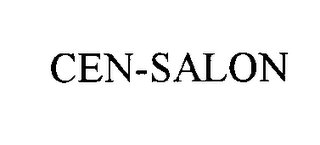 mark for CEN-SALON, trademark #76134091