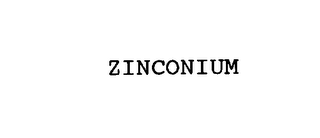 mark for ZINCONIUM, trademark #76135425