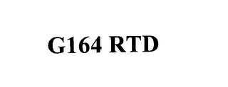 mark for G164 RTD, trademark #76136827