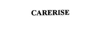 mark for CARERISE, trademark #76136918