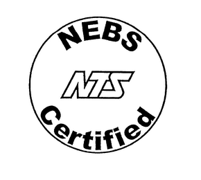 mark for NEBS NTS CERTIFIED, trademark #76142040