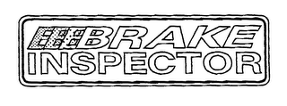 mark for BRAKE INSPECTOR, trademark #76143022