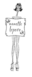 mark for NANETTE LEPORE, trademark #76143763