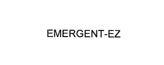 mark for EMERGENT-EZ, trademark #76144609