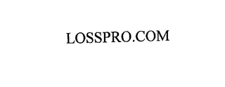 mark for LOSSPRO.COM, trademark #76144986