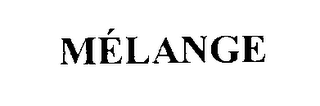 mark for MELANGE, trademark #76145025