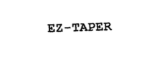mark for EZ-TAPER, trademark #76145521