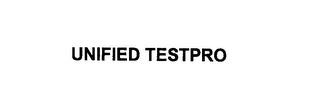 mark for UNIFIED TESTPRO, trademark #76145889