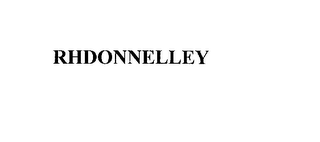 mark for RHDONNELLEY, trademark #76148622