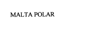 mark for MALTA POLAR, trademark #76148862