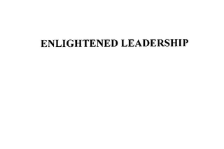 mark for ENLIGHTENED LEADERSHIP, trademark #76149061