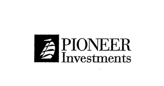 mark for PIONEER INVESTMENTS, trademark #76150257