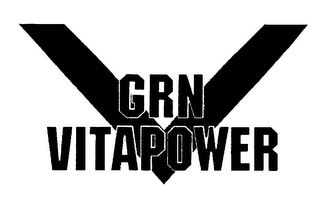 mark for V GRN VITAPOWER, trademark #76153849