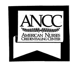 mark for ANCC AMERICAN NURSES CREDENTIALING CENTER, trademark #76158476