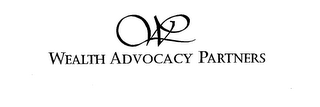 mark for WEALTH ADVOCACY PARTNERS, trademark #76158627