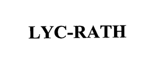 mark for LYC-RATH, trademark #76158887