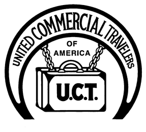 mark for U.C.T. UNITED COMMERCIAL TRAVELERS OF AMERICA, trademark #76159309