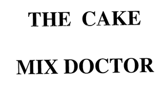 mark for THE CAKE MIX DOCTOR, trademark #76159426