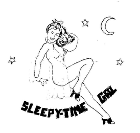 mark for SLEEPY-TIME GAL, trademark #76165093