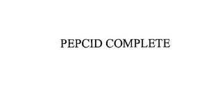 mark for PEPCID COMPLETE, trademark #76165191