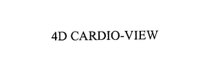 mark for 4D CARDIO-VIEW, trademark #76165649