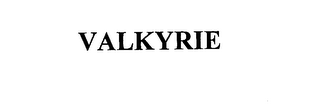 mark for VALKYRIE, trademark #76166923