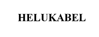 mark for HELUKABEL, trademark #76168074