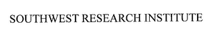 mark for SOUTHWEST RESEARCH INSTITUTE, trademark #76169145