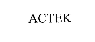mark for ACTEK, trademark #76172225