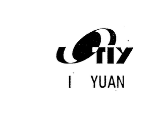 mark for TIY I YUAN, trademark #76172417