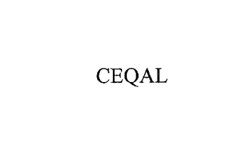 mark for CEQAL, trademark #76173880