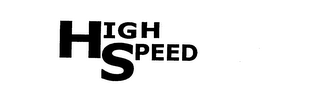 mark for HIGH SPEED, trademark #76174107