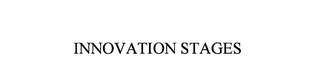 mark for INNOVATION STAGES, trademark #76176022
