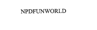 mark for NPDFUNWORLD, trademark #76176319