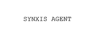 mark for SYNXIS AGENT, trademark #76176615