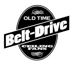 mark for OLD TIME BELT-DRIVE CEILING FANS, trademark #76176666