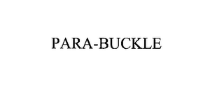 mark for PARA-BUCKLE, trademark #76177230