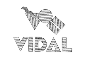 mark for VIDAL, trademark #76177874