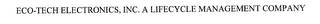 mark for ECO-TECH ELECTRONICS, INC. A LIFECYCLE MANAGEMENT COMPANY, trademark #76177907