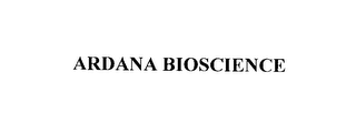 mark for ARDANA BIOSCIENCE, trademark #76178478