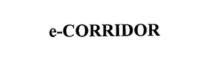 mark for E-CORRIDOR, trademark #76182871