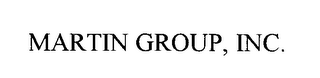 mark for MARTIN GROUP, INC., trademark #76183020