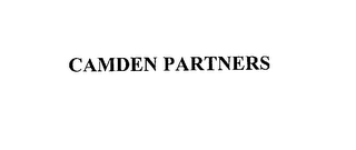 mark for CAMDEN PARTNERS, trademark #76184185