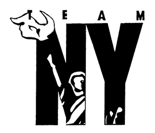 mark for TEAM NY, trademark #76184567