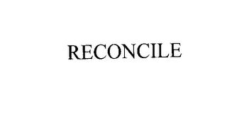 mark for RECONCILE, trademark #76186173