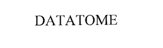 mark for DATATOME, trademark #76186695