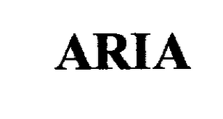 mark for ARIA, trademark #76187293