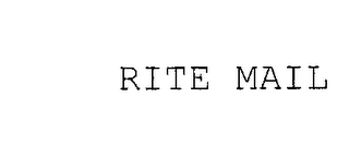 mark for RITE MAIL, trademark #76188625