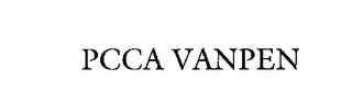 mark for PCCA VANPEN, trademark #76188906