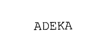 mark for ADEKA, trademark #76189088